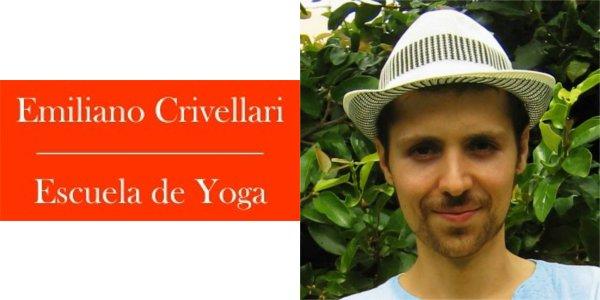 Emiliano Crivellari Escuela de Yoga - Yogacharya Emiliano Crivellari