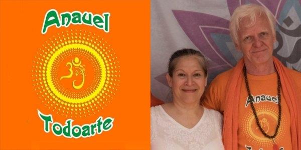 Escuela de Yoga Anauel Todoarte - Yogacharini Eda Leon - Yogacharya Dario Feltan