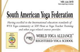 WORLD YOGA ALLIANCE - REGISTERED SCHOOL